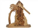 #10016 Olive Wood Small Grotto
