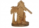 #10019 Olive Wood Grotto With Bark