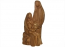 #20004 Olive Wood Modern Holy Family