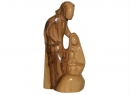 #20011 Olive Wood Modern Holy Family