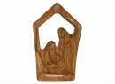 #20016 Olive Wood Modern Holy Family