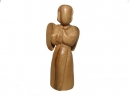 #20030 Olive Wood Modern Angel