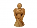 #20034 Olive Wood Modern Angel
