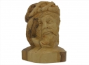 #30004  Olive Wood Head Of Jesus