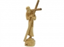#30012 Olive Wood Jesus Holding The Cross