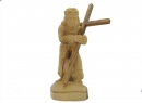 #30015 Olive Wood Jesus Holding The Cross