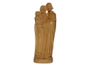 #30018 Olive Wood Holy Family Sculpter