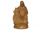 #30019 Olive Wood Holy Family Sculpter