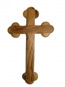 #40003 Olive Wood Plain Cross Of The 14 Stations