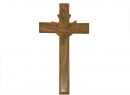 #40007 Olive Wood Plain Cross With Dove