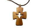 #55002 Olive Wood Cross Pendant