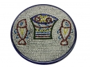 #CP1003 The two fishes and the five breads ceramic plate