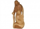 #20001 Olive Wood Modern Holy Family
