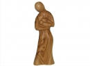 #20020 Olive Wood Mary Nursing Jesus