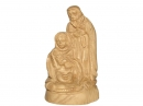 #30021 Olive Wood Holy Family Sculpter
