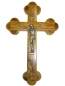 #40002 Olive Wood Cross Of the 14 Stations With Crucifix