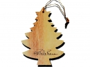 #50042 Olive Wood Tree Ornament