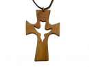#55003 Olive Wood Cross Pendant