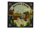 #CP1015 Bethlehem View Ceramic Wall Plaque